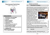 Rauenspurger Nachrichten 15.09.2012