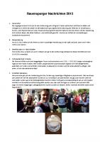 Rauenspurger Nachrichten 2015